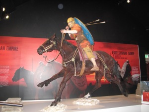 Roman Army Museum galloping major