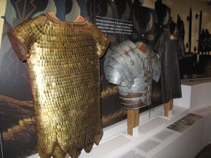Roman Army Museum mail and armour
