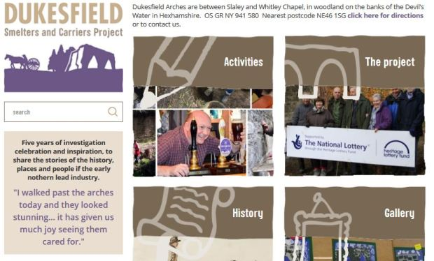 Dukesfield website banner featured image