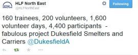 HLF @DukesfieldA tweet