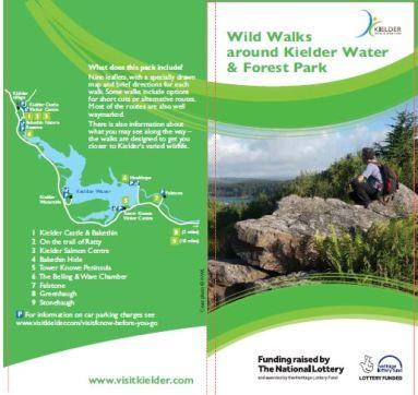 Kielder Wild Walks leaflets